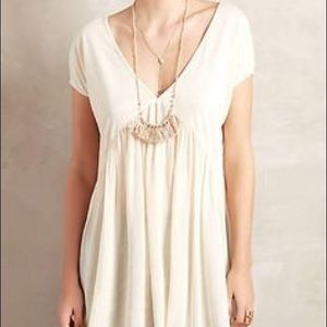 Anthropologie Creme Top